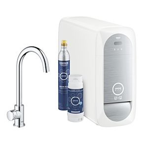 Grohe Blue Home Mono Starter Kit 31498001 chrom, C-Auslauf