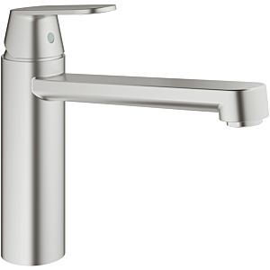 Grohe Eurosmart Cosmopolitan single-lever sink mixer 30193DC0 supersteel, medium-high spout