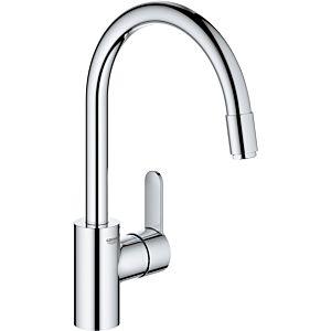 Grohe Eurostyle Cosmopolitan évier match0 31126004 chrome, bec en C orientable, débit d'eau interne