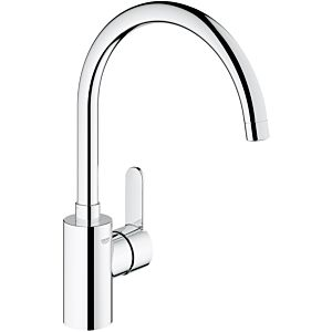 Grohe Eurostyle Cosmopolitan kitchen mixer 31127002, chrome, low pressure, swiveling