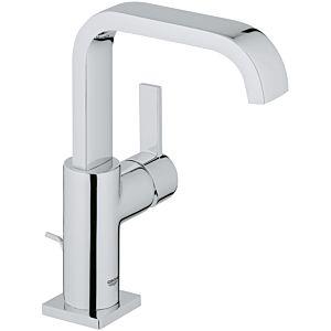 """Grohe Allure L-Size basin mixer 1/2"""" 32146000 chrome, u-spout outlet, incl. drain set"""