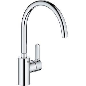 Grohe Eurostyle Cosmopolitan single lever sink mixer 33975004 chrome, swiveling C spout, internal water flow