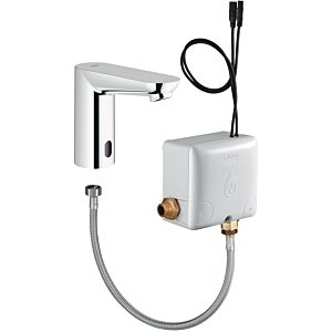 Grohe Euroeco CE Powerbox 36384000 chrom, mit Infrarot-Elektronik für Waschtisch, ohne Mischung