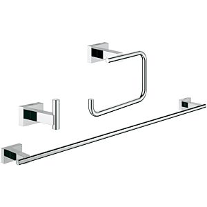 Grohe Essentials Cube 3 in 1 Bad-Set 40777001 chrom