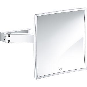 Grohe Selection Cube Kosmetikspiegel 40808000 chrom, für Wandmontage