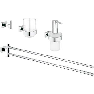 Grohe Essentials Cube 4 in 1 Bad-Set 40847001 chrom