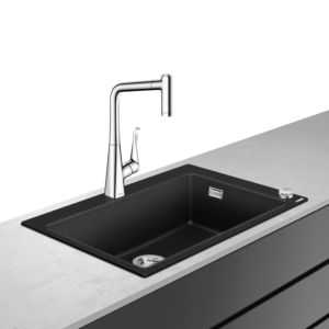 hansgrohe Select combination 43213000 770 x 510 mm, with sBox, 2000 main bowl, 2000