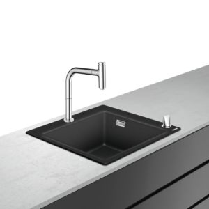hansgrohe Select combination 43217000 560 x 510 mm, with sBox, 2000 main bowl, 2000
