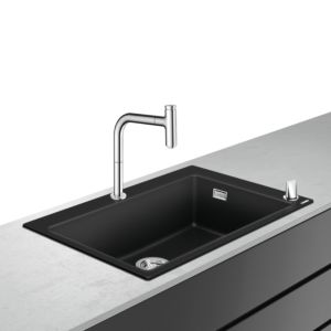 hansgrohe Select combination 43218000 770 x 510 mm, with sBox, 2000 main bowl, 2000