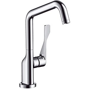 hansgrohe Axor Citterio kitchen tap 3985000 swivel spout adjustable, chrome