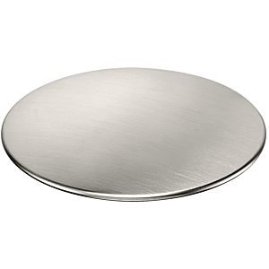 "hansgrohe cover 40952800 Stainless Steel , for stainless steel 2000 with 3 2000 / 2 ""basket strainer"