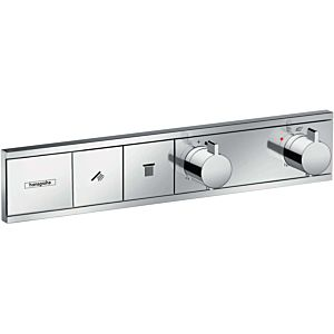 hansgrohe RainSelect Thermostat 15380000 chrom, 2x Verbraucher, Unterputz