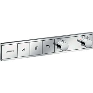 hansgrohe RainSelect thermostat 15381000 chromé, 3x consommateurs, encastré