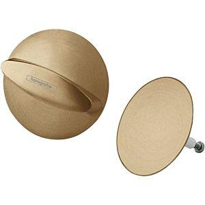 hansgrohe Flexaplus match0 58185140 bronze brossé, jeu de vidage / trop-plein