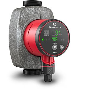 Grundfos Alpha3 Hocheffizienz-Umwälzpumpe 99371910 15-80, 130 mm, 230 V/50 Hz