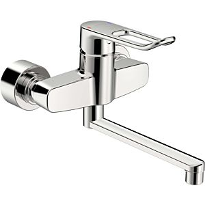 Hansa Hansaclinica Hansa Hansaclinica 01536286 wall mounting, bracket lever, projection 277 mm, chrome