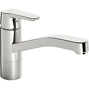 Hansa Hansapolo robinet de cuisine 51591193 ND, orientable, saillie 215 mm, chrome