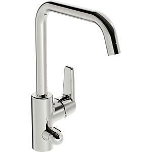 Hansa Hansapolo kitchen faucet 51602293 with mechanical Hansa Hansapolo valve, swiveling, projection 203 mm, chrome