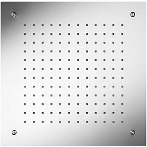 Herzbach Living Spa Decken Regenbrause 11638000209 edelstahl gebürstet, 380x380mm, Regenstrahl
