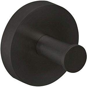 Herzbach Deep Black towel hook 23.819000. 2000 .12 32 mm, black matt, wall mounting