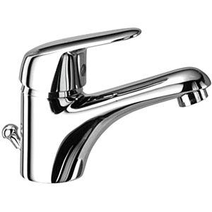 Herzbach Kappa single lever basin mixer 50.113101. 2000 chrome, with waste set