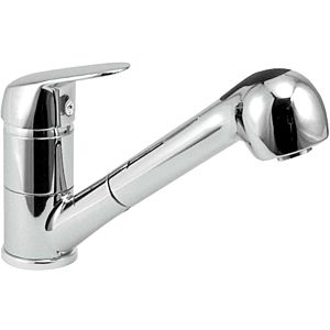 Herzbach kitchen Kappa match1 Kappa chrome, swivel spout, pull-out hand shower