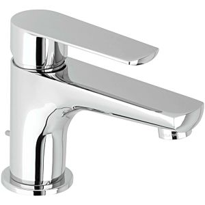 Herzbach Ventura single lever basin mixer 51.100315. 2000 chrome, with waste set