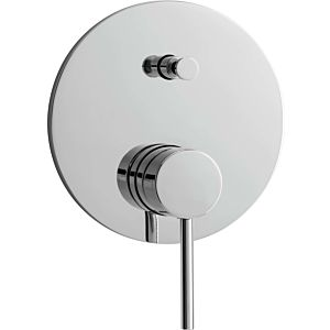 "Herzbach Design new trim set 10.145305. 2000 .01 for concealed bathtub mixer, shower 2000 / 2 "", chrome"