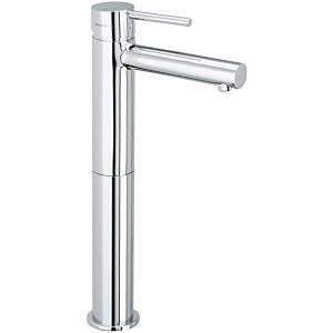 Herzbach Design new basin mixer 10145320301 chrome, raised shaft, without waste set