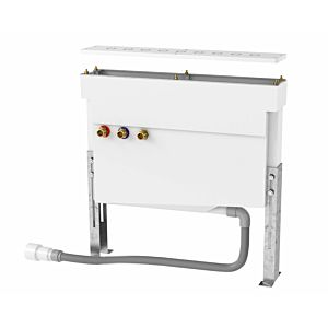 Herzbach assembly frame 11.500190. 2000 .09 for tile 2000 fittings, with mounting plate and hose box