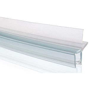 Hüppe drainage strip 070043000 88cm, curved, for 6mm glass thickness