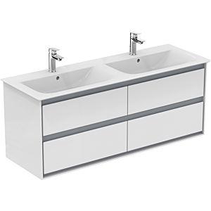 Ideal Standard Connect Air Waschtischunterschrank E0824B2, weiss glänzend/weiss matt, 4 Auszüge