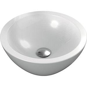 Ideal Standard Strada O vasque K078301 ronde, 42,5 x 42,5 x 16 cm, blanc, sans trou pour robinet