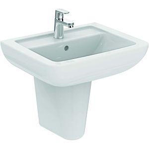 Ideal Standard Eurovit Plus Waschtisch K284701 weiß, 55 x 44 cm, 1 Hahnloch