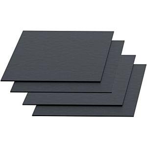 Kaldewei Duschwannen Antidröhn-Set 687675720000 DW ADS, 4 Antidröhnplatten 250 x 250 mm