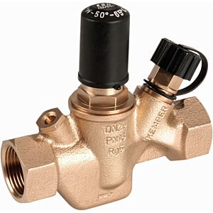 Kemper Multi-Therm circulation regulating valve 1430001500 DN 15, Rp 2000 / 2, PN 16, gunmetal, automatic, 50-65 ° C