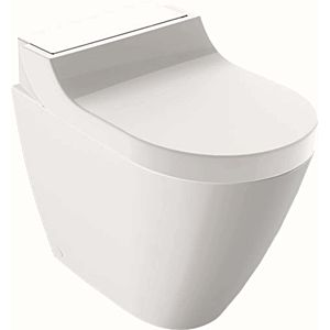 Geberit AquaClean Tuma WC -complete system 146310SI1 with stand- WC , deep, glass white
