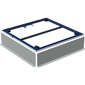 Geberit Setaplano Installationsrahmen 154460001 bis 100cm, für 4 Füße, 80 x 80 x 3 cm