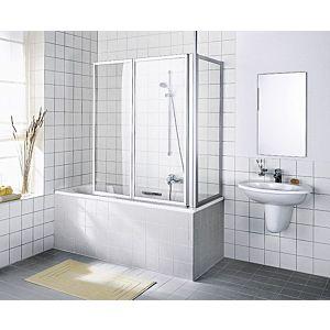 Kermi Vario 2000 side panel V2TWD070142YK 61.4-64.6x140cm, white, ESG SR Opaco Clean