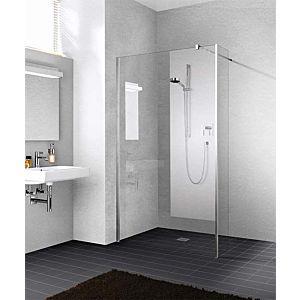 Kermi Xb Festfeld XBFFW05020VAK 51,7x200cm, silber hochglanz, ESG klar, Glasanlage