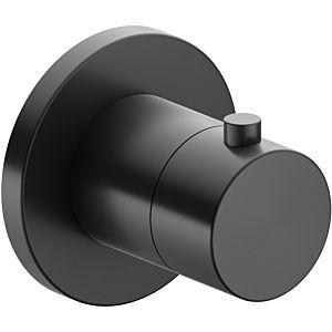 Keuco Ixmo Keuco 59553130001 concealed thermostatic mixer, round, black chrome brushed
