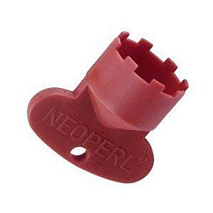 Neoperl cache service key 09915146 JR + SLIM AIR, M 21.5x1, red, for mounting the jet regulator