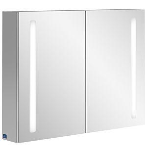 Villeroy&Boch My View 14 Spiegelschrank A4218000 80 x 75 x 17,3 cm, LED-Beleuchtung, 2 Türen