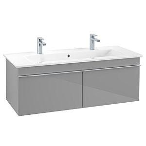Villeroy & Boch Venticello Unterschrank A93802FP 115,3x42x50,2cm, Griff White, Glossy Grey