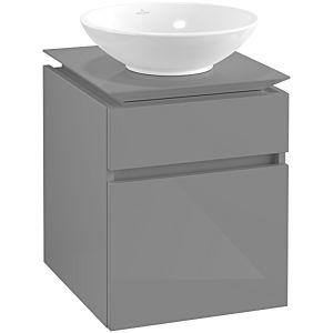 Villeroy & Boch Legato Villeroy & Boch vasque B56600FP 45x55x50cm, Glossy Grey