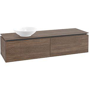 Villeroy & Boch Legato Villeroy & Boch vasque B59500E1 160x38x50cm, Santana Oak