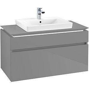 Villeroy & Boch Legato Villeroy & Boch B681L0FP 100x55x50cm, avec éclairage LED, Glossy Grey