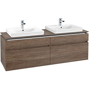Villeroy & Boch Legato Villeroy & Boch Legato B693L0E1 160x55x50cm, with LED lighting, Santana Oak