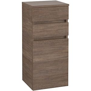 Villeroy & Boch Legato side cabinet B72801E1 40x87x35cm, hinged on the right, Santana Oak