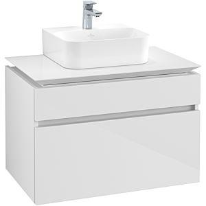 Villeroy & Boch Legato Villeroy & Boch vasque B73400DH 80x55x50cm, Glossy White